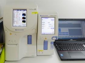 血球計数・CRP測定器