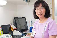 看護師:足立 亜紀子